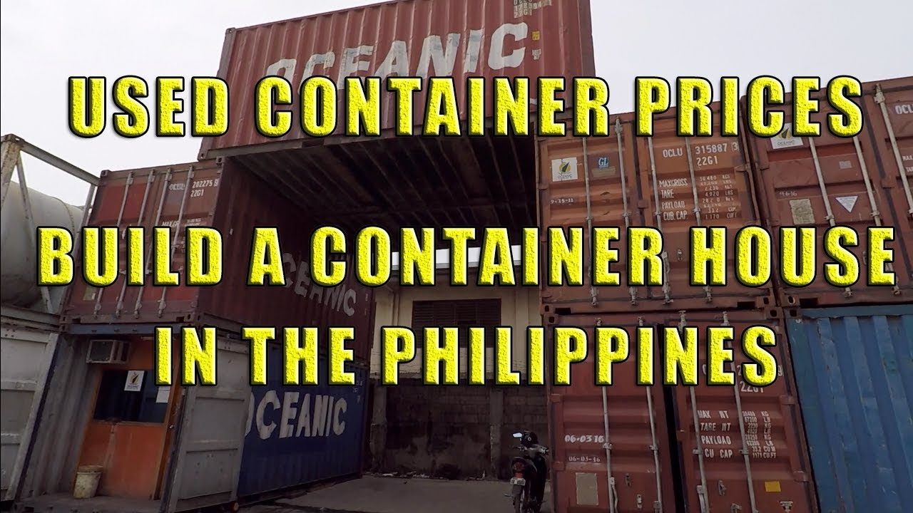 Used Container Prices In The Philippines