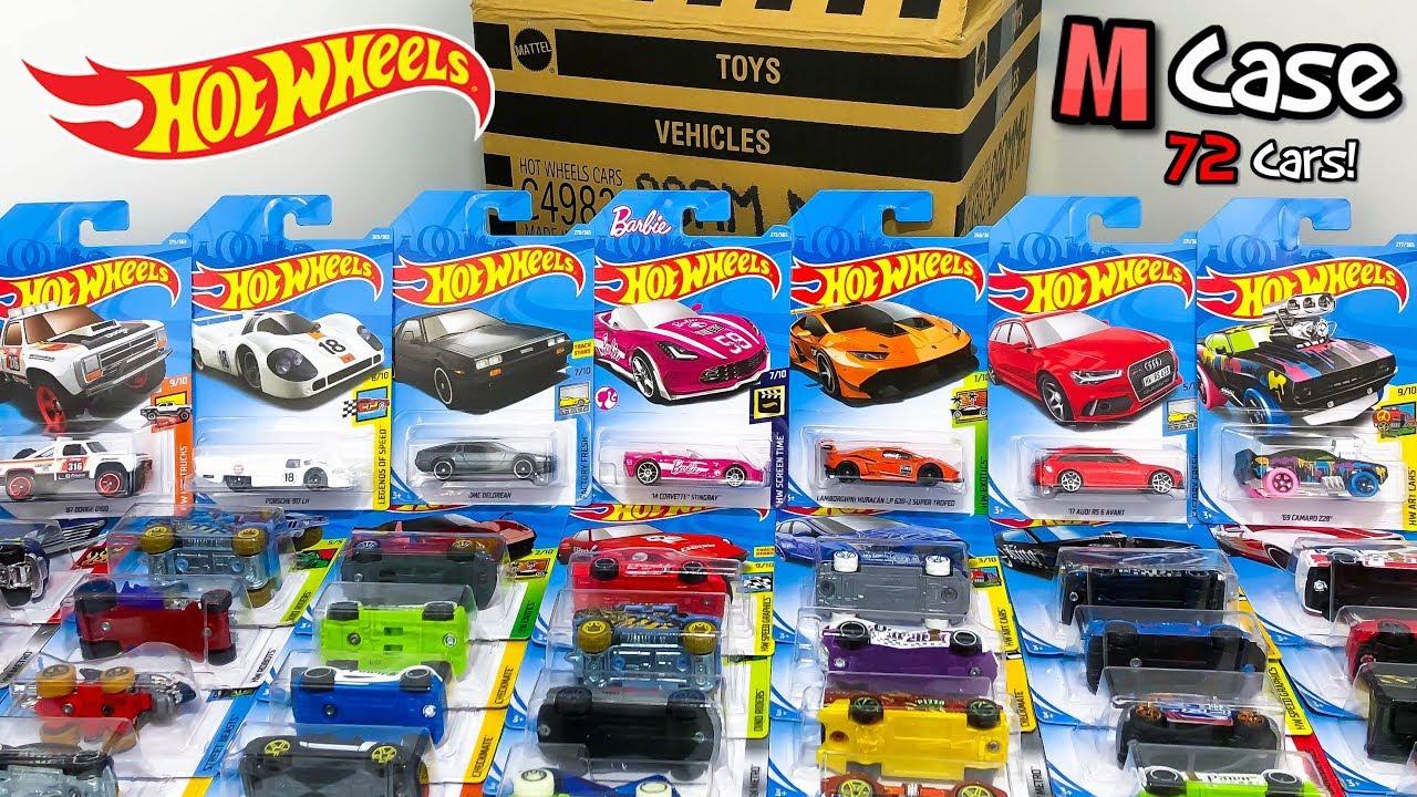Unboxing Hot Wheels 2018 M Case 72 Car Assortment! - YouTube