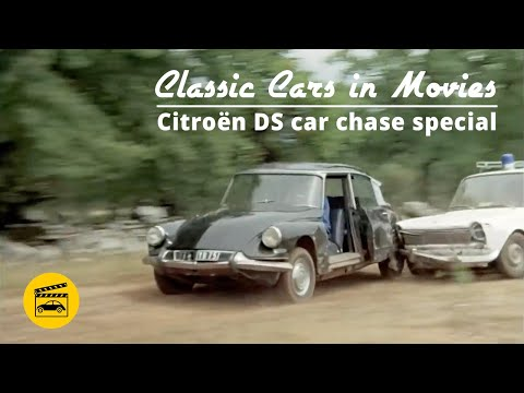 Classic Cars In Movies - Citroën DS Car Chase Special