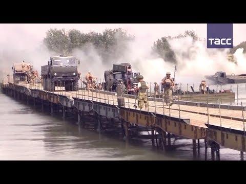 Российские военные возвели