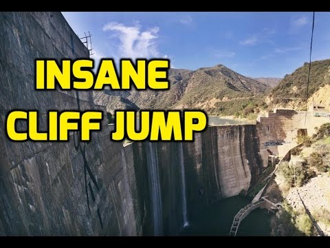 INSANE Foot Cliff Jump BIGGEST DAM JUMP EVER RECORDED YouTube - 8 most dangerous cliff jumps in the world