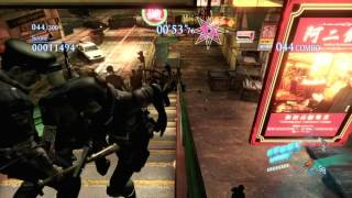 RESIDENT EVIL 6 ( PS4 ) Main Menu + New Mode Gameplay ( Fast Looking )