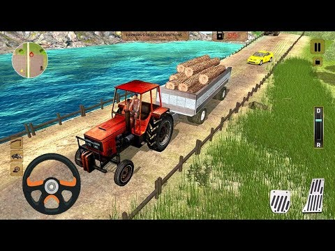 Heavy Tractor Cargo Transport Farmer Simulator (by Zygon Games) Android Gameplay [HD]