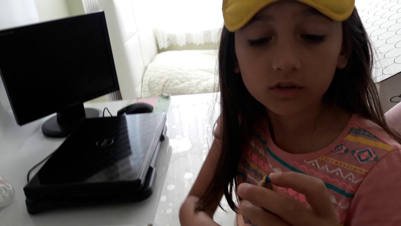 Gözümüz Kapali Boyama Challenge çektik Youtube