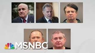 Criminality Taints Giuliani Role In Trump Ukraine Scheme | Rachel Maddow | MSNBC