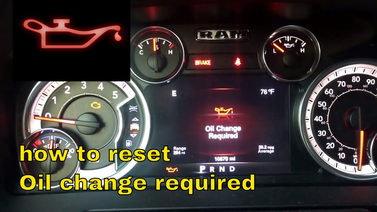 [FPWZ_2684]  How to reset oil life on 2014, 2015, 2016, 2017, 2018, 2019 Dodge Ram  ecodiesel - YouTube | 2017 Dodge Dielsel Fuel Filter Warning Light |  | YouTube