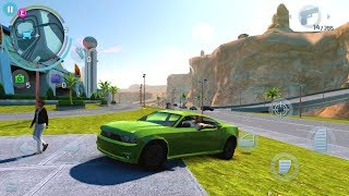 Gangstar Vegas HD: What happens if you follow the Police? CRAZY | NEW Ford Mustang GREEN 500 HP