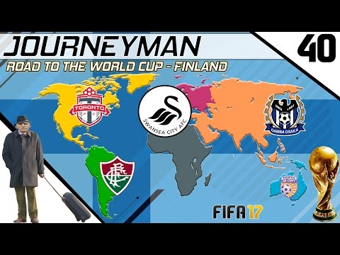 Fifa 17 - Journeyman - Road to the World Cup - #40 (Swansea)