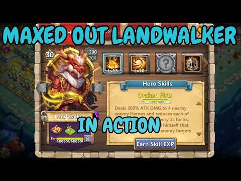 Maxed Out Landwalker Ln Action L Castle Clash