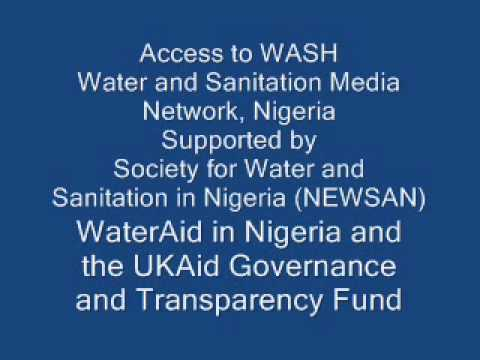 WASH issues in Lagos state, Nigeria, 2013