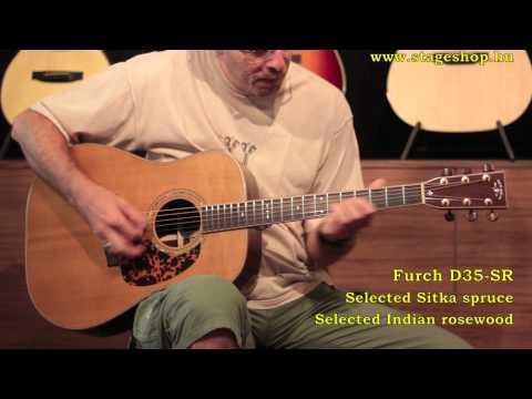 Furch (Stonebridge) D35-SR demo in Stageshop