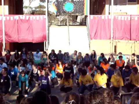 Cardijn College year 12's athon day dance - Sound of Music