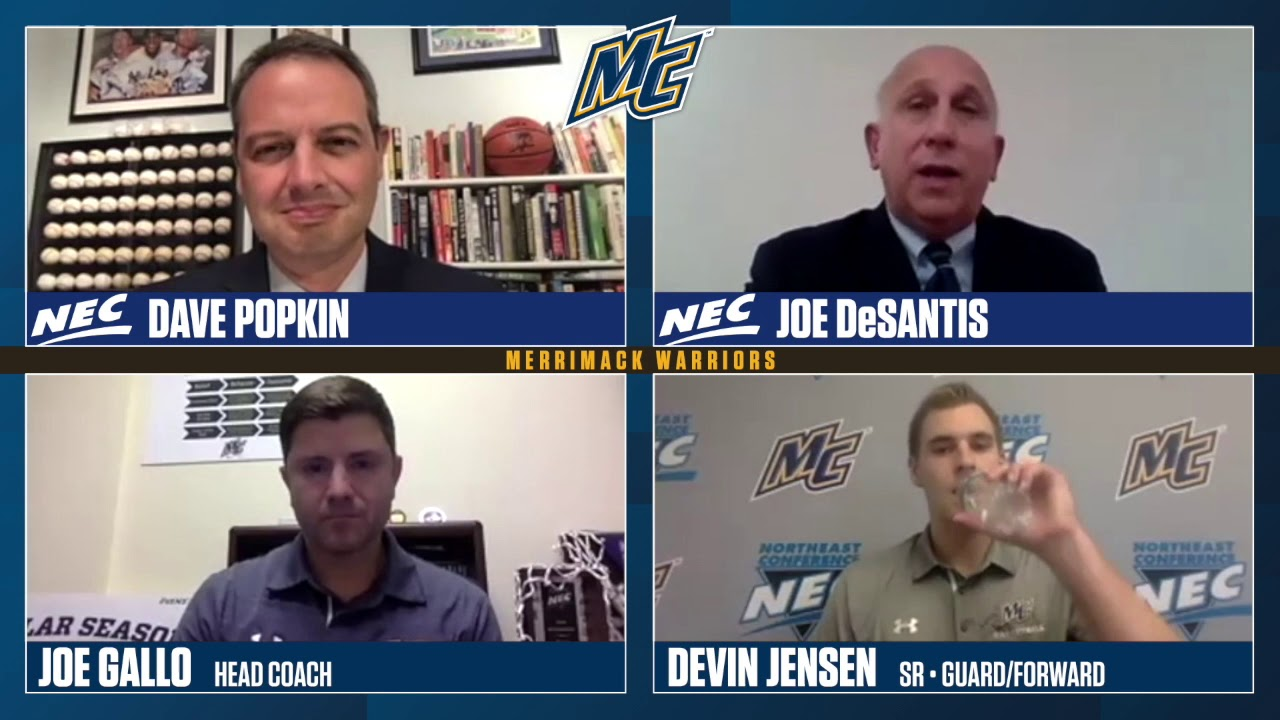 MBB: Men's Basketball Team Segment at 20-21 NEC Virtual Media Day