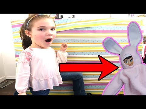 Huge Present From Easter Bunny Elf On The Shelf! The Doll Maker Was Watching Us!