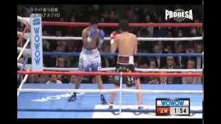 Pelea Jose Alfaro vs Yoshihiro Kamegai - Video Prodesa