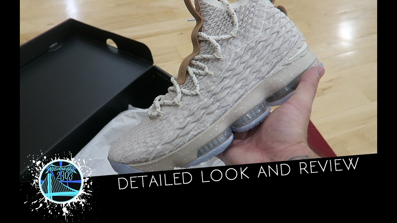 buy online ec49f 68a9c MY THOUGHTS ON THE NIKE LEBRON 15 AFTER PLAYING IN THEM