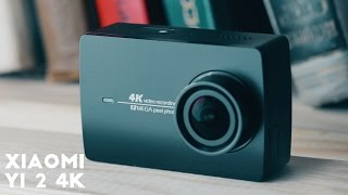 Xiaomi Yi 2 4K экшн-камера. Она ничего общего не имеет с Xiaomi Yi.