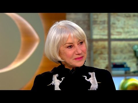 "Acclaimed actress Helen Mirren on new movie, ""Collateral Beauty"""