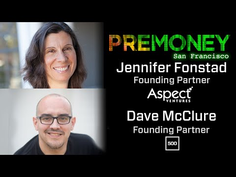 """[PreMoney SF 2016] Jennifer Fonstad, Dave McClure: """"Looking Ahead, While Learning from The Past"""""""