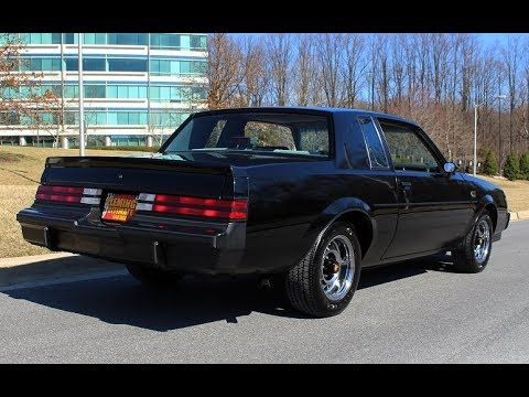 1987 Buick Grand National W 14 000 Original Miles For Sale With