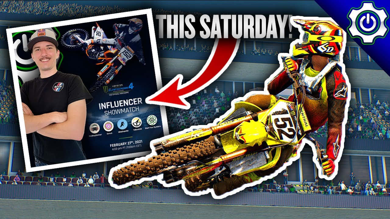We're Racing in a SUPERCROSS 4 Tournament! - Monster Energy Supercross: The Official Videogame