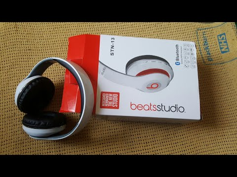 Unboxing And Review Of Beatsstudio Stn 13 Youtube