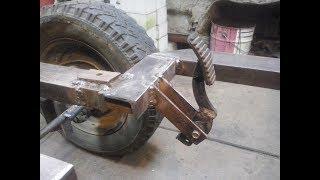 Минитрактор (КПП ЗАЗ , 7 л.с) #5) педали тормоза и газа