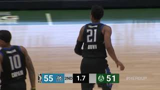 Anthony Brown (22 points) Highlights vs. Wisconsin Herd thumbnail