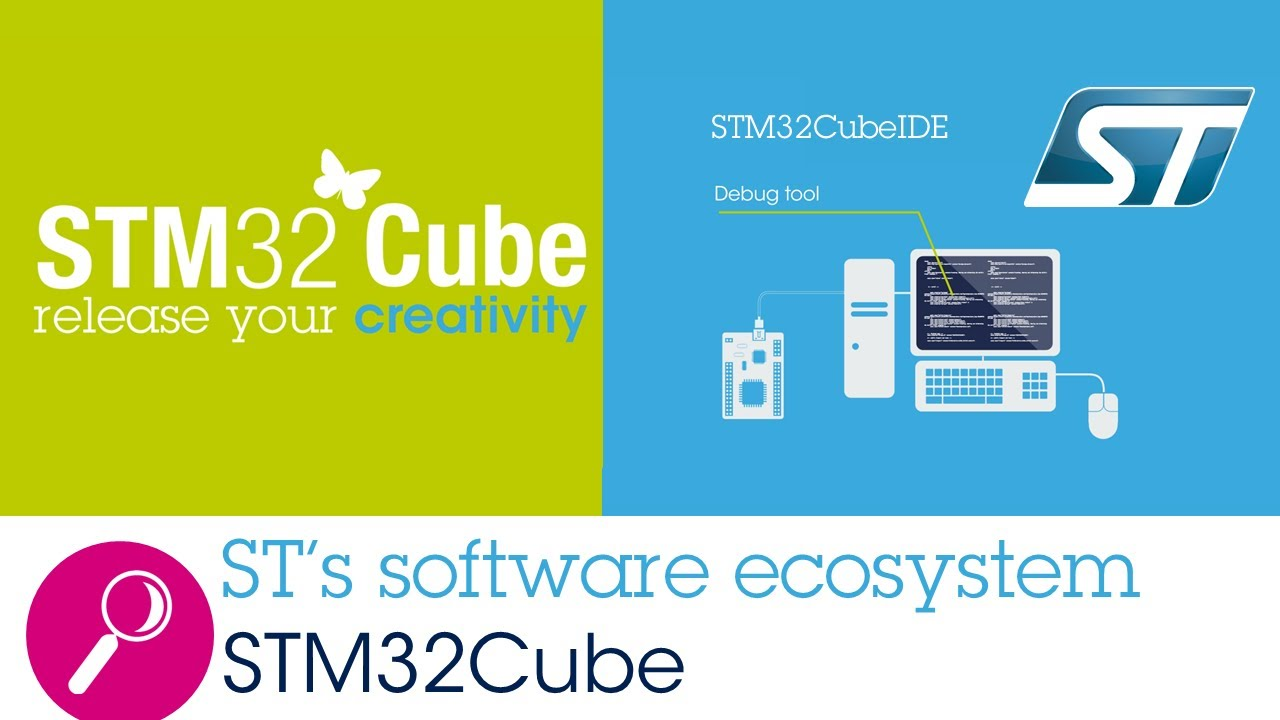 ST's software environment for STM32