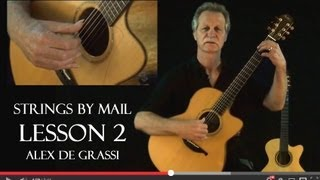 Strings By Mail Lessonette with Alex de Grassi | Lesson 2 Dynamics