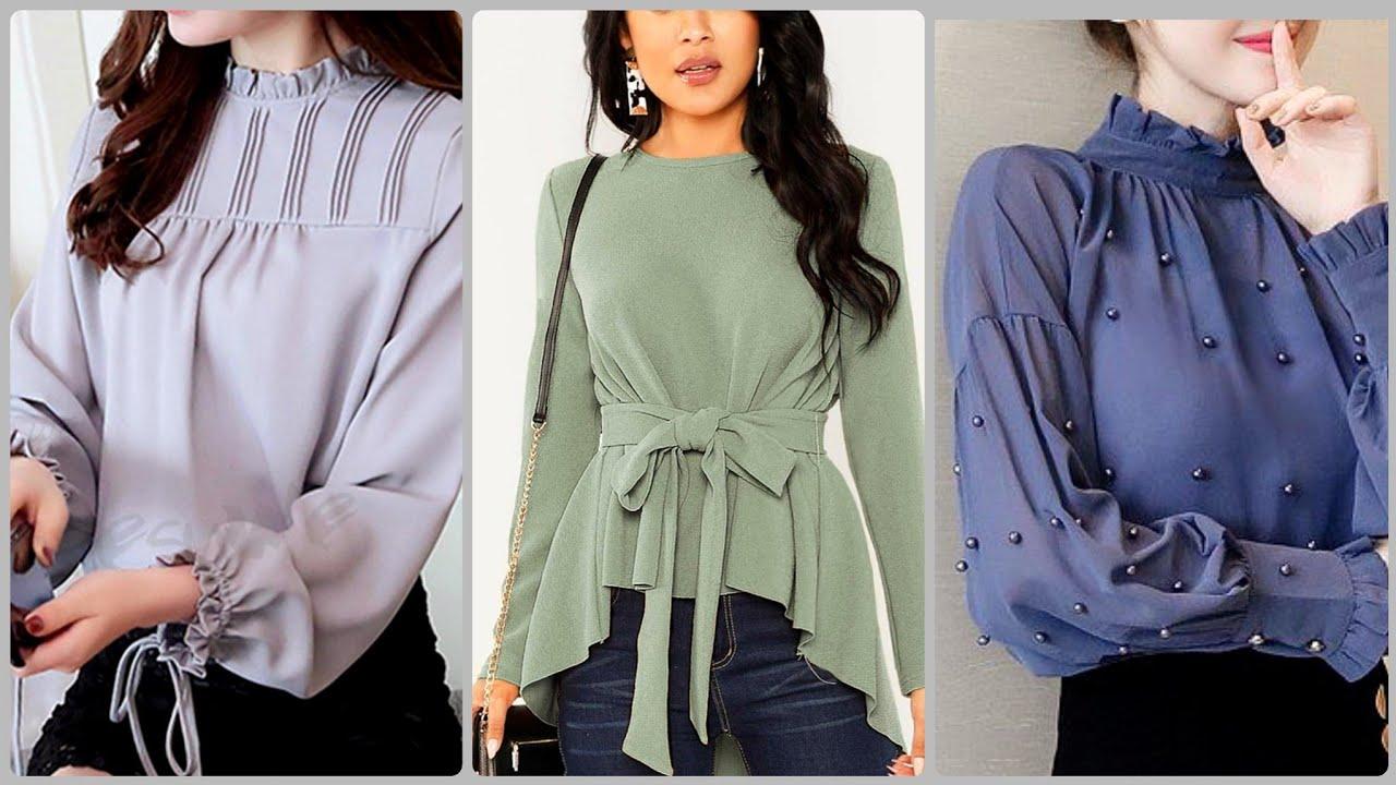 Casual top \u0026 shirts/ Long Sleeve Shirt