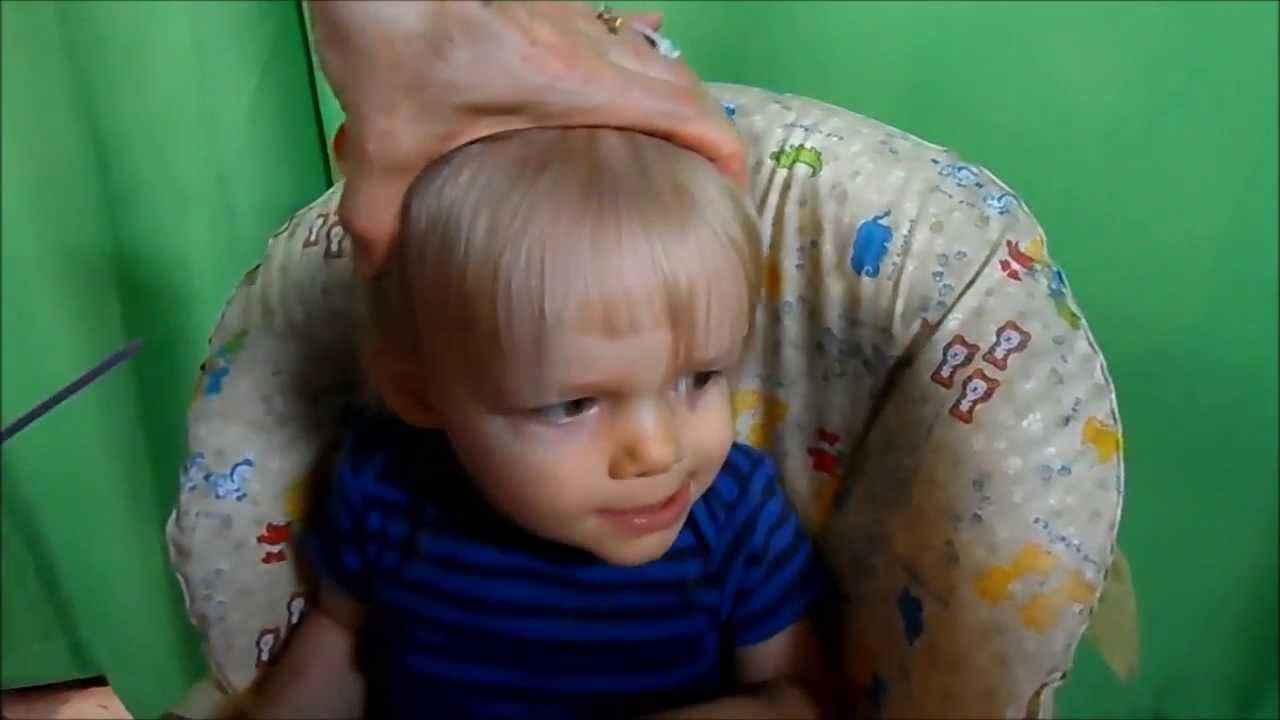 How To Cut Toddler Boy Hair Part 1 Youtube