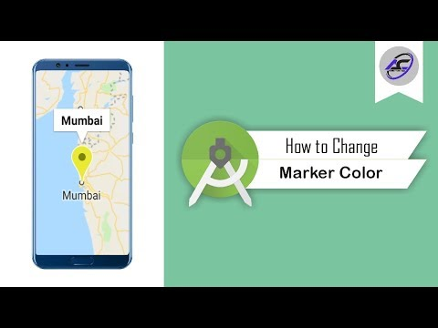 How To Change Google Map Marker Color In Android Studio   ChangeMarkerColor   Android Coding