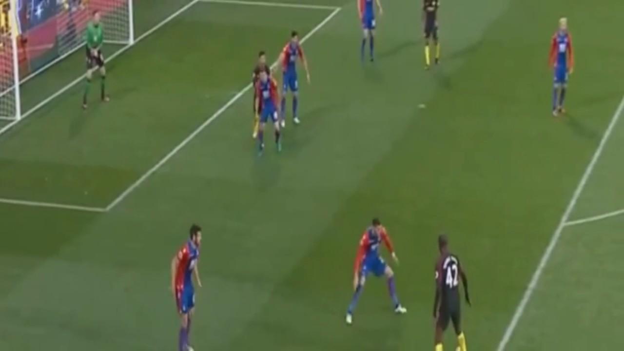 Download Yaya Toure Goal - Crystal Palace 0-1 Manchester City