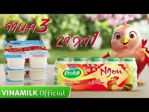 Quảng cáo Vinamilk - Sữa chua Vinamilk – Tết vui vẻ - Rinh quà ngon khỏe
