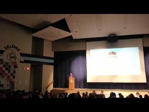 Keynote Speaker - JA Day at Delong Middle School 2019
