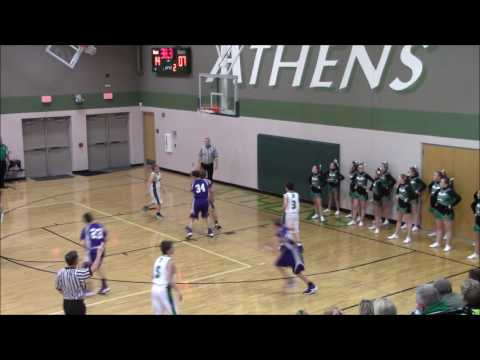 8th grade Williamsville @ Athens 12/1/16