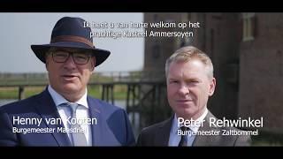 Nationale Kersenparty | uitnodiging burgemeesters Maasdriel en Zaltbommel
