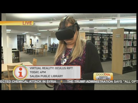 VR at Salida Library