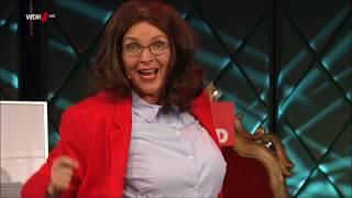 "ANDREA NAHLES!! Großartiger Auftritt in den ""Mitternachtsspitzen"" bei Jürgen Becker"