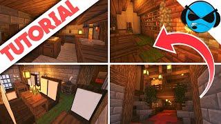 How To Build Medieval Inn Interior Minecraft Tutorial Minecraft Docks Village Part 11 YouTube