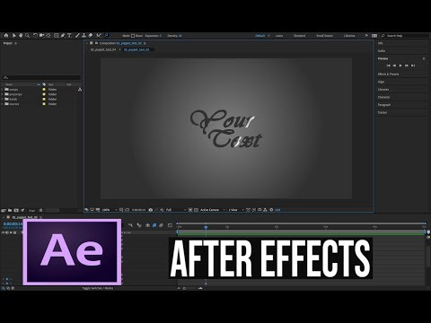 After Effects Tutorial 3 - How to Create A Light Sweep thumbnail