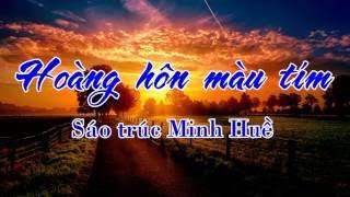 Hoàng Hôn Mầu Tím-sáo trúc MH