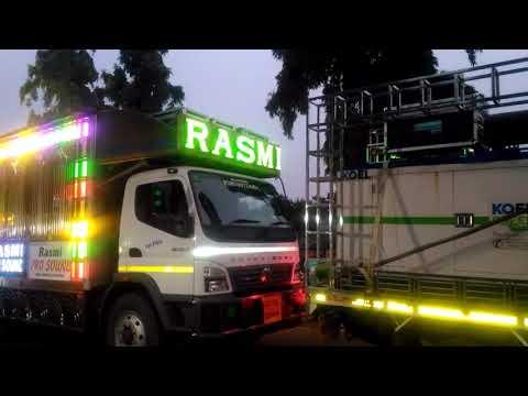 Rasmi pro new setup..with rasmi dj night.Awesome sound and light
