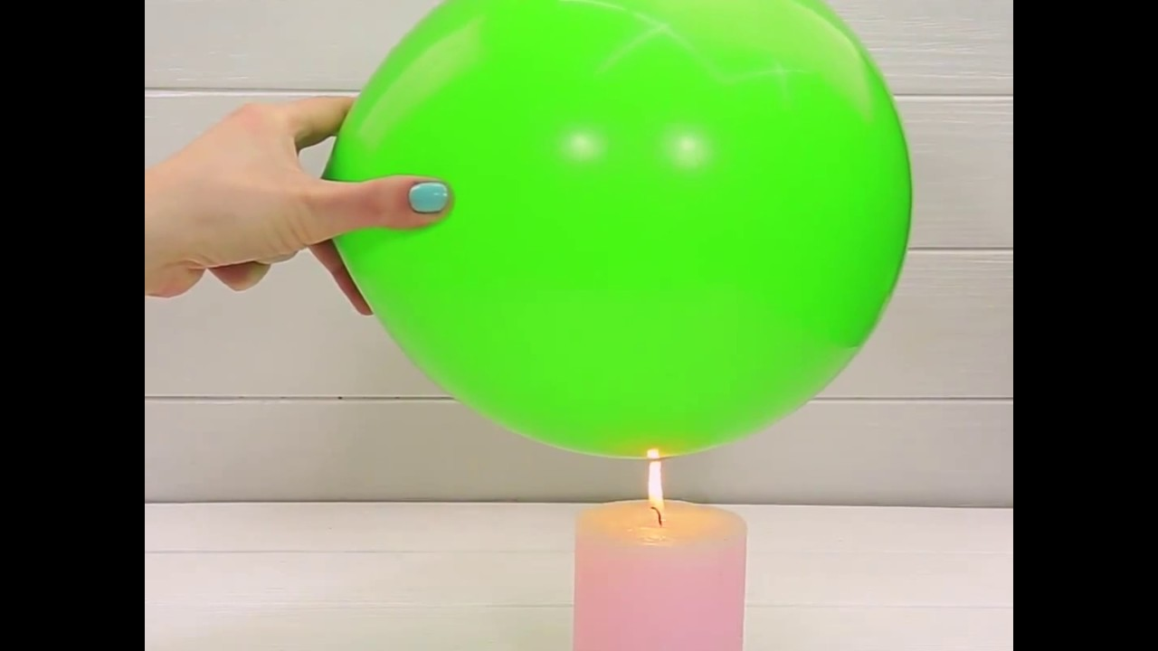 Три удивительных трюка с воздушными шариками  Удивите своих детей