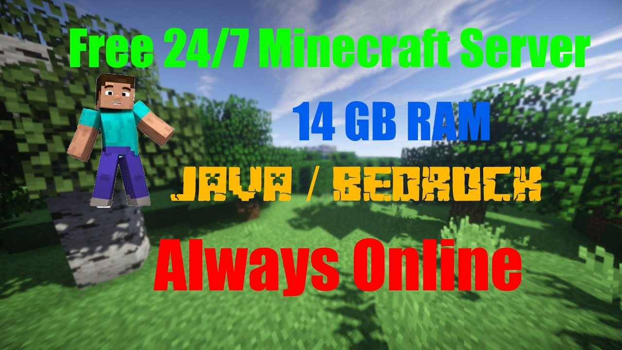 How to Create A free 24/7 Minecraft Server With Upto 8GB Ram