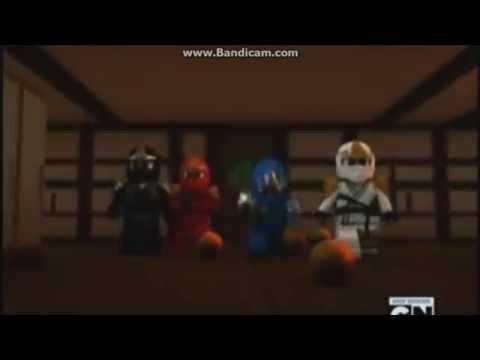Ninjago - Здраствуйте дети (Співає Коул) (Кліп)