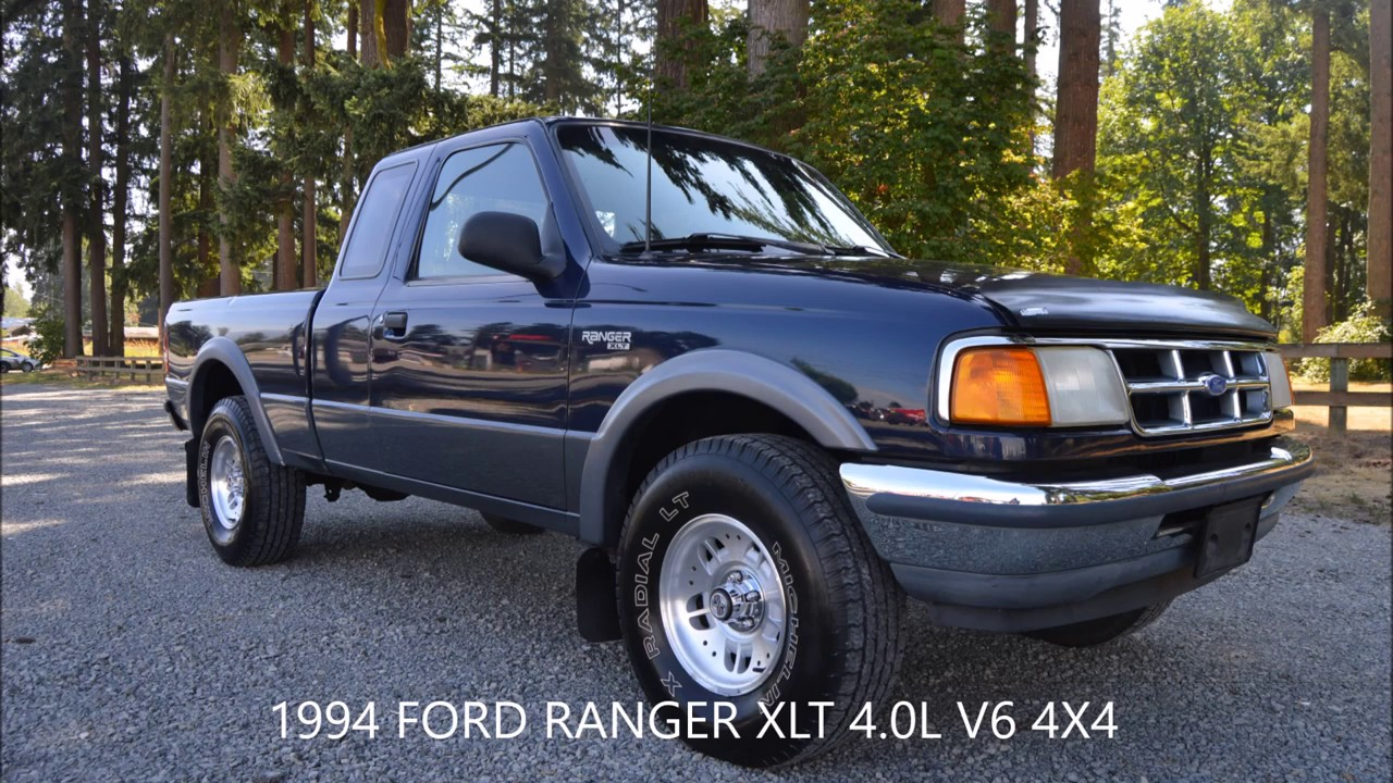 1994 ford ranger xlt ext cab 4 0l v6 4x4 automatic 140k. Black Bedroom Furniture Sets. Home Design Ideas