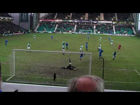 Chris Hegarty Goal Montrose versus Hibs