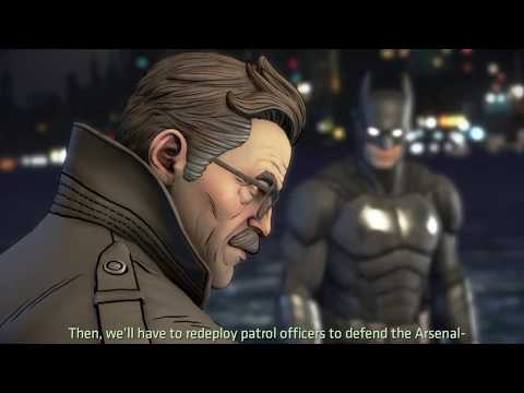 BATMAN Telltale : The Pact - The Animated Movie